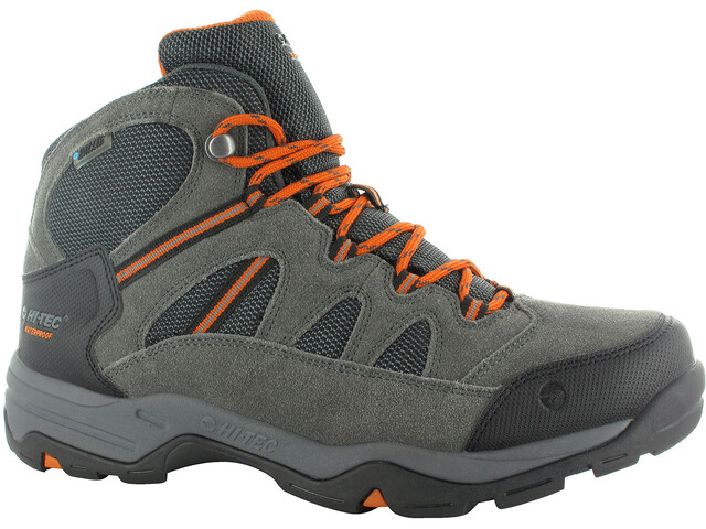 Hi-Tec Bandera II WP Shoes Men Charcoal/Graphite/Burn Orange